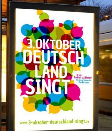 3. Oktober - Deutschland singt!