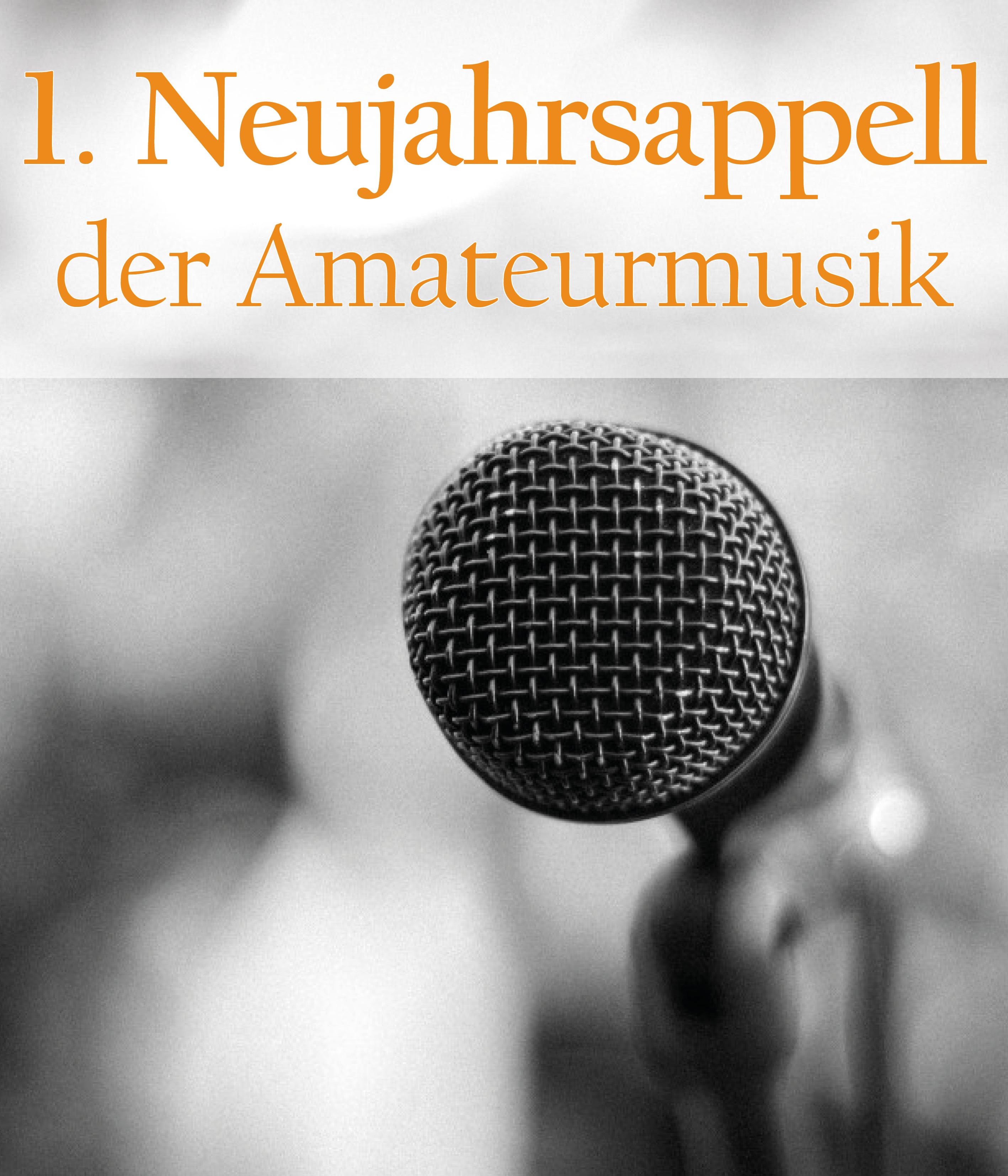 1. Neujahrsappell der Amateurmusik